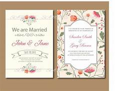 20 pcs lot vintage floral wedding invitation set rustic