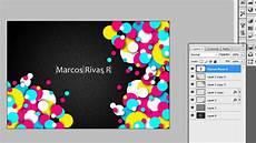 Plantillas Para Tarjetas De Presentacion Adobe Photoshop Crear Una Tarjeta De Presentaci 243 N Youtube