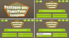 Powerpoint Template Quiz Powerpoint Quiz Template Pentagon Ppt Themes
