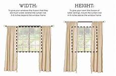 How To Hang Curtains Properly How To Hang Curtains The Right Way Do It Yourself Ideas