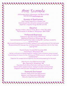 Bad Resume Example Good Resume Format Bad Resume Format Unm Career