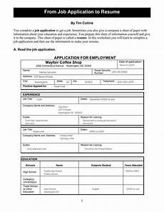 Job Application Resume Template Printable Job Application Resume Templates At