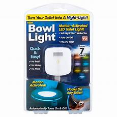 Motion Detection Night Light For Your Bowl As Seen On Tv Bowl Light Motion Activated Led Toilet Light