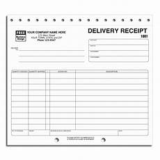 Delivery Book Template Preprinted Delivery Receipt Forms Free Shipping