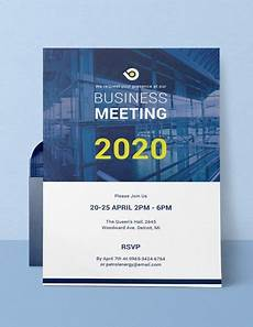 Invitations Companies 68 Meeting Invitation Templates Psd Word Ai Free