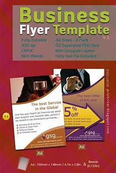 Business Advertisement Template 35 Attractive Free Flyer Templates And Designs For
