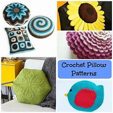 crochet pillow patterns to cozy up your home