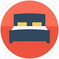 bed icon of flat style available in svg png eps ai