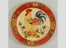 Rooster plates, Roosters and Plates on Pinterest