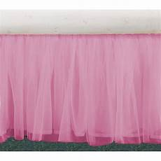 tulle pink ruffle bedskirts in all sizes drop lengths