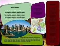 Examples Of Leaflets Travel Leaflets Samples