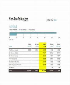 Nonprofit Budgeting 11 Nonprofit Budget Templates Word Pdf Excel Free
