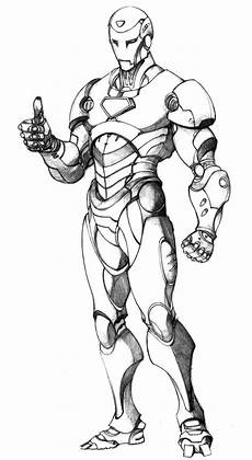 superior iron coloring pages