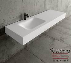 lavabo bagno corian top bagno in corian 174 con lavabo nevada yessenia