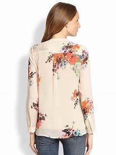 joie silk blouse layering joie devitri floral silk chiffon blouse in