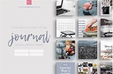 social media design templates journal social media template pack design cuts