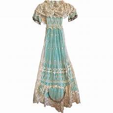 elaborate vintage crepe and embroidered tulle lace for