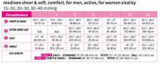 Mediven Assure Size Chart Mediven For Women Vitality 20 30 Mmhg Calf High Closed
