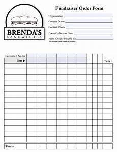 Fundraiser Order Form Templates Free 6 Fundraiser Order Form Templates Website Wordpress Blog