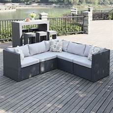 5 patio sectional furniture seating indoor outdoor