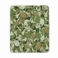 aliexpress buy sugar skull camouflage green blanket