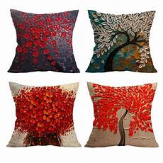 Accent Sofa 3d Image by Decorative Throw Pillow Cover 18 X18 Non 3d Flower