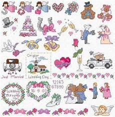 Free Wedding Cross Stitch Patterns Charts Diaz Designs Wedding Motifs Cross Stitch Chart