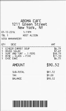Make Receipts For Your Business Expressexpense Custom Receipt Maker
