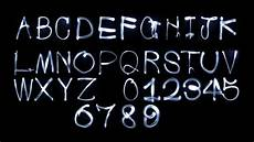 Stheititc Light Font Light Painting Font By Konote Videohive