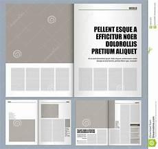 Design Layout Modern Design Magazine Stock Illustration Image 59047303