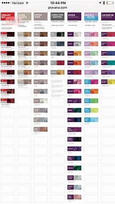 Pravana Hair Color Chart Pravana Vivids Color Chart Pravana Hair Color Pravana