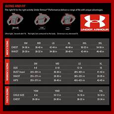 Under Armour Sizing Chart Mens Under Armour Size Chart