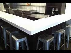 corian top corian cirrus white custom countertops at vini wine bar