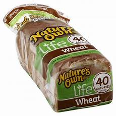 Light Wheat Bread Calories Natures Own 40 Calorie Wheat Bread 16 00 Oz Harris Teeter