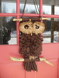 macrame owls the whoot
