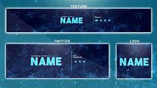 You Tube Banner Free Youtube Banner Template Photoshop Banner Logo
