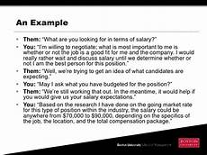 How To Negotiate A Job Offer Evaluating And Negotiating A Job Offer