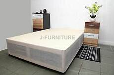 4ft6 standard divan bed base in colour with