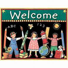 Welcome Chart For Classroom Kids Welcome Chart From Susan Winget Tcr7637 Teacher