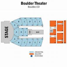 Rockland Boulders Seating Chart Boulder Theater Boulder Tickets Schedule Seating