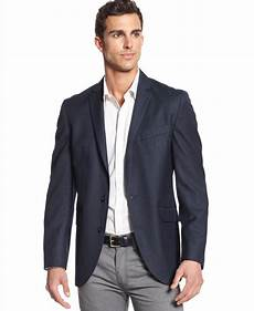 kenneth cole reaction s textured sport coat navy 48l