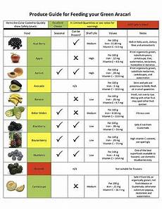 Bird Compatibility Chart Parrot Diet Chart Google Search Parrot Diet Diet