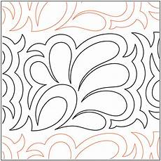 Tear Away Paper Quilting Designs Feather Flower Border Tear Away Quilting Designs
