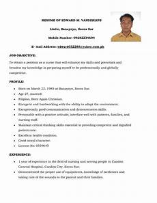 Simple Resume Objective Sample Of Resume With Experience Assignmentkogas X Fc2 Com