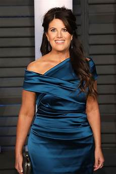 monica lewinsky walks off stage when asked about bill
