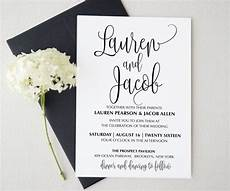 contoh undangan formal invitation wedding zentoh