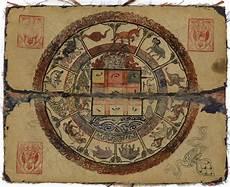 Tibetan Chart Mongolian Manual Of Astrology And Divination