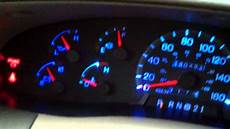 2003 Ford F150 Dash Lights Cluster Lights Ford Expedition F150 98 Part 5 Youtube