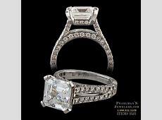 Gumuchian Eiffel Tower Engagement Ring