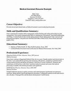 Career Objective Examples For Medical Assistant 20 Best Images About Monday Resume On Pinterest